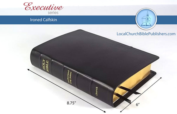 435E1B Paragraph Bible - Bibles from Heartland Baptist Bookstore