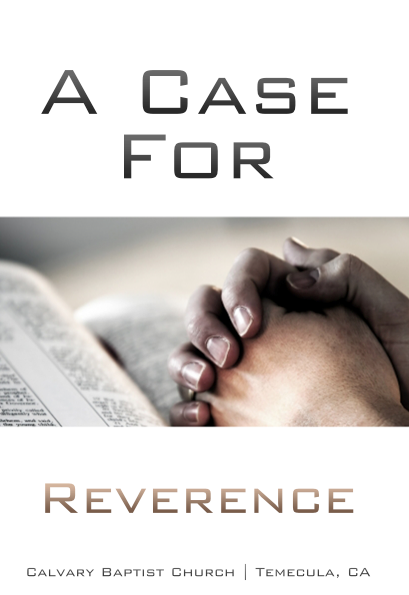 A Case For Reverence - Books from Heartland Baptist Bookstore