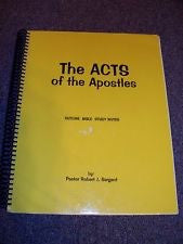 Acts of the Apostles, The - Books from Heartland Baptist Bookstore