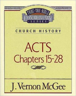 Acts Chapters 15-28 Thru - Books from Heartland Baptist Bookstore