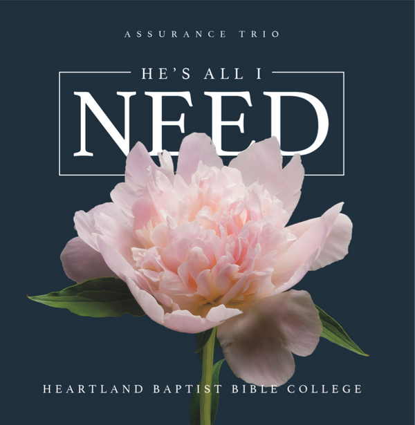 He's All I Need (CD)