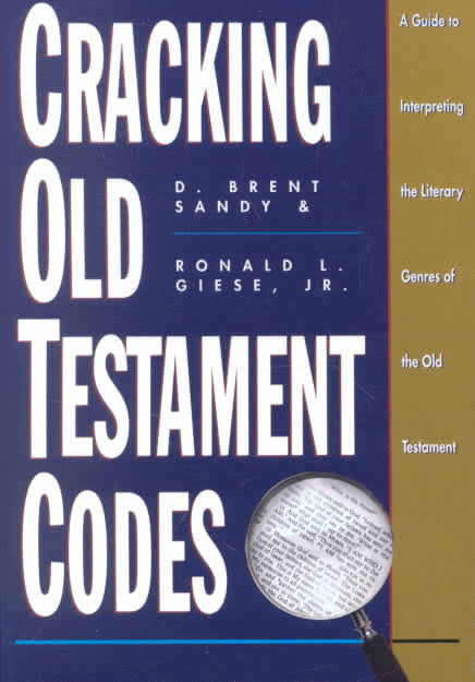 Cracking Old Testament Codes - Books from Heartland Baptist Bookstore