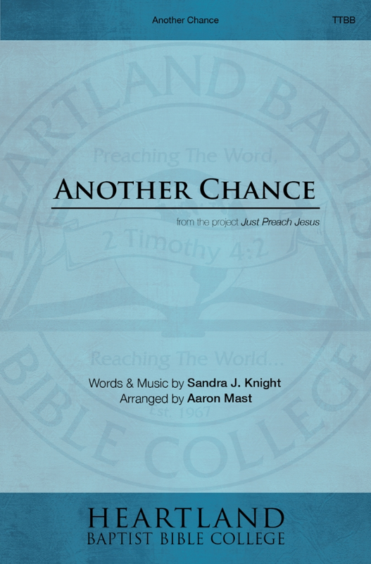 Another Chance - Sheet Music from Heartland Baptist Bookstore