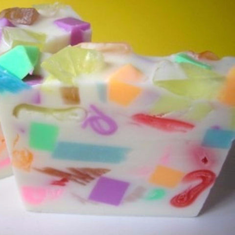 Birthday Cake Confetti Soap