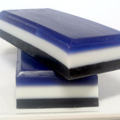 Black Linen and Amber Soap