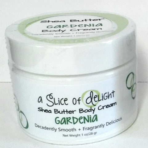 Gardenia Shea Butter Body Cream