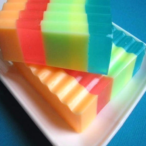 Groovy Day Rainbow Soap