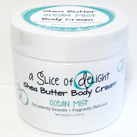 Ocean Mist Shea Butter Body Cream