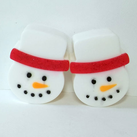 Snowman with Red Brim