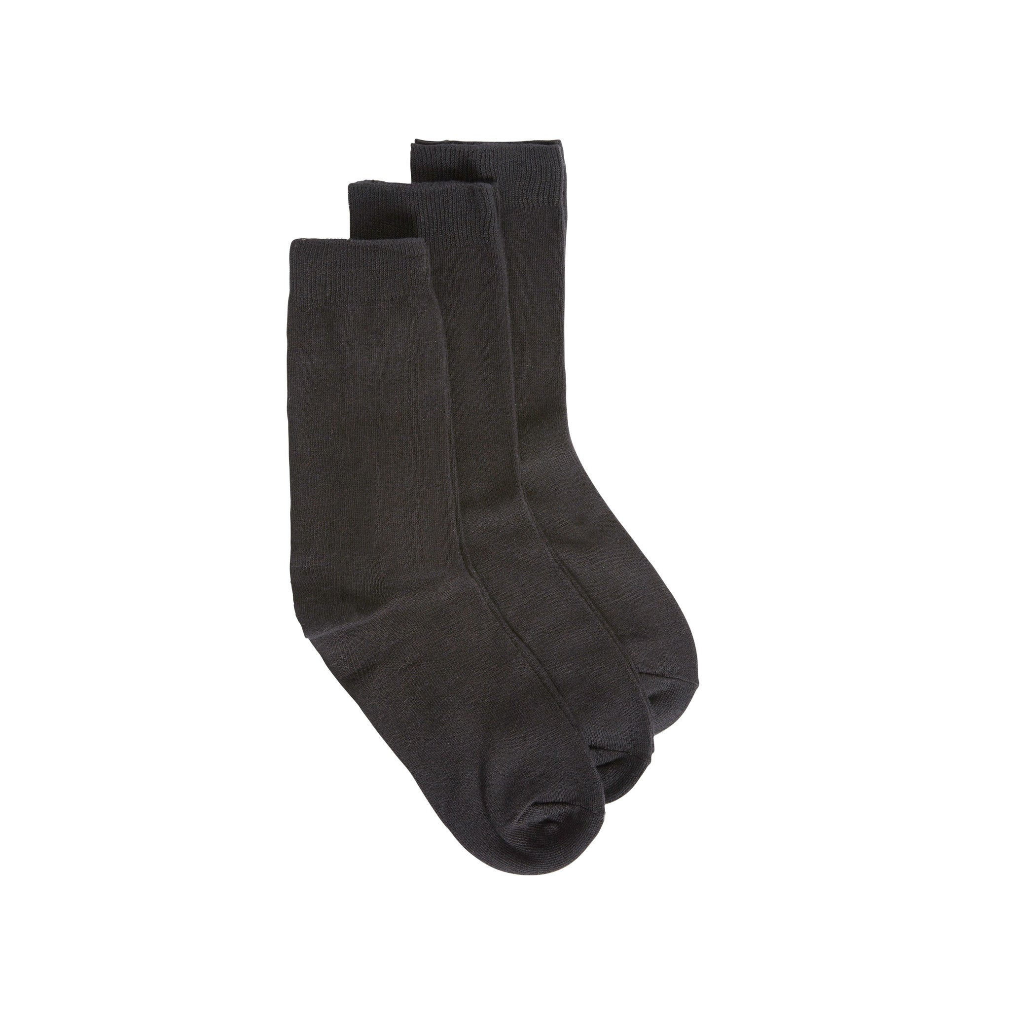 Black Ankle Socks 3 Pack
