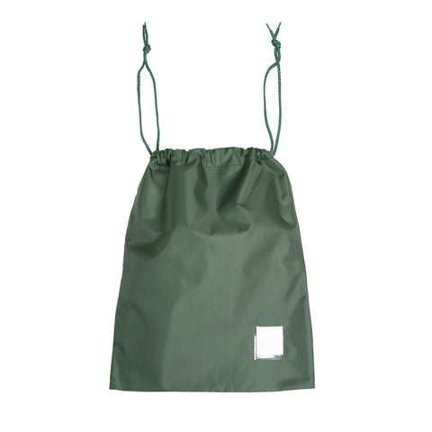 Prep Drawstring Green Swim Bag