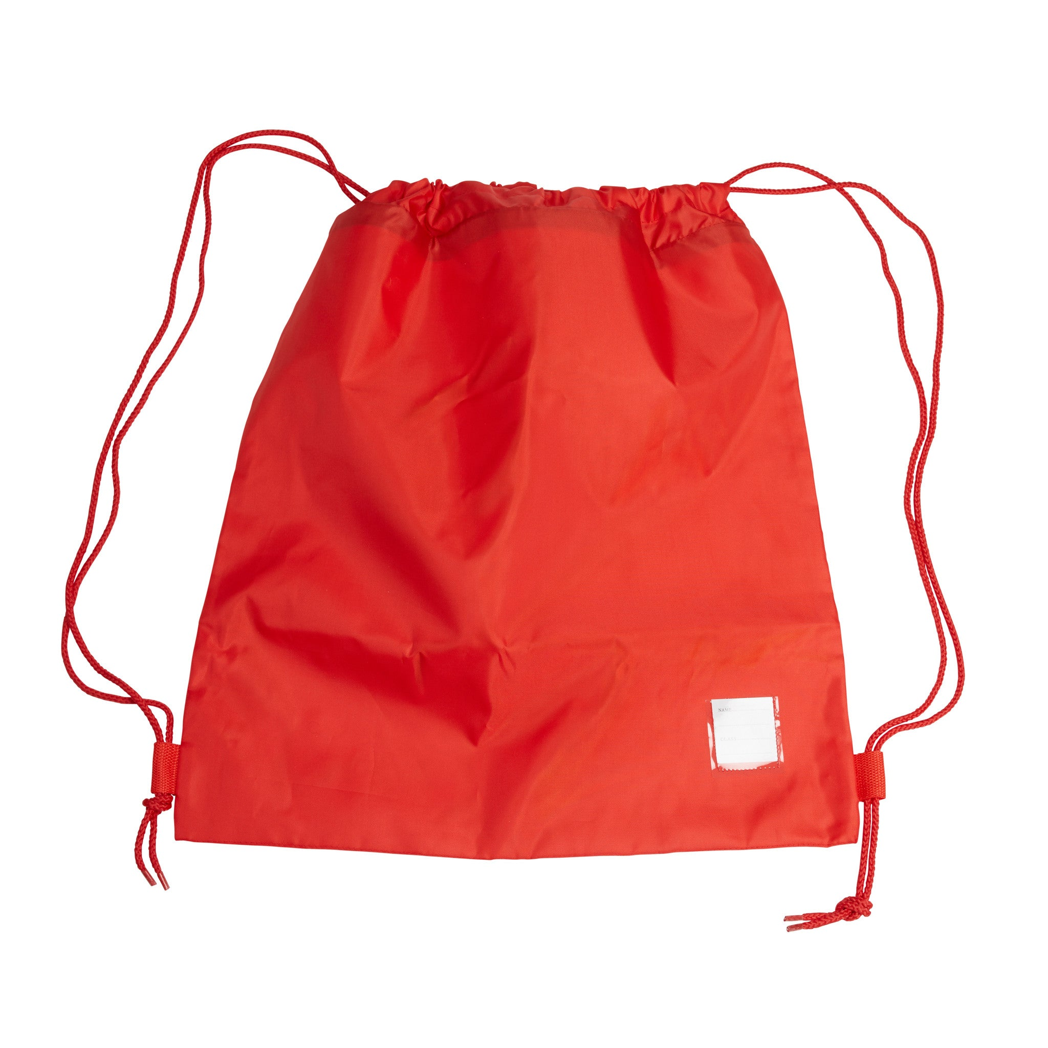 Prep Red PE Large Drawstring Bag