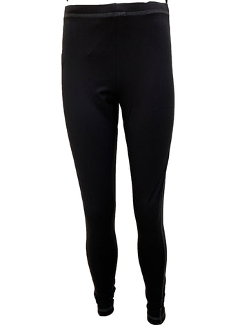 Prep Skins Black Unisex Thermal Long Leggings