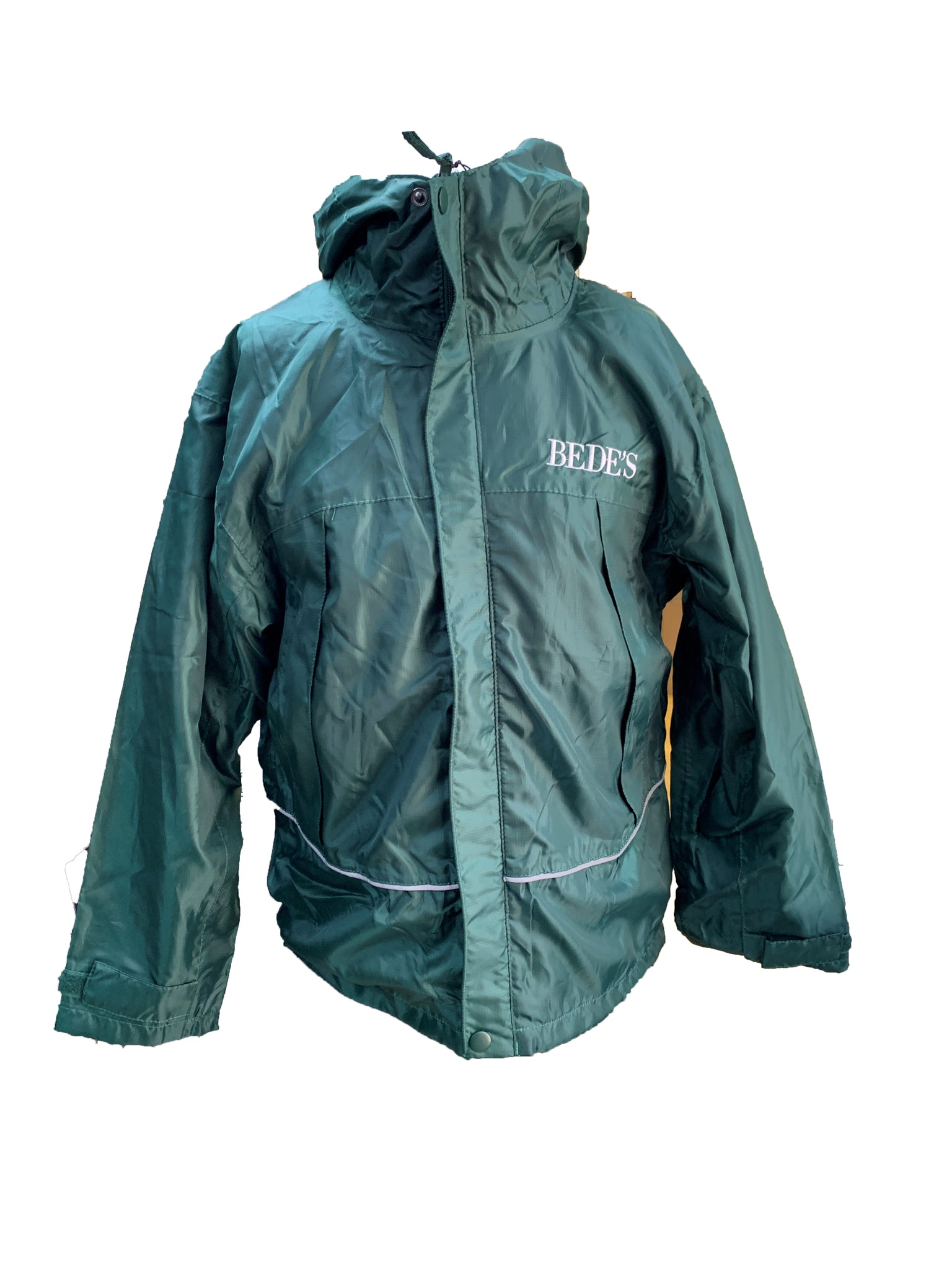 Prep Bede's Green Waterproof Mac Junior Sizes