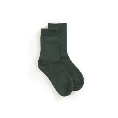 Prep Green Uniform Ankle Socks