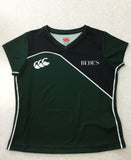 Prep Girls Revolution Games Top Green/Black Senior Sizes