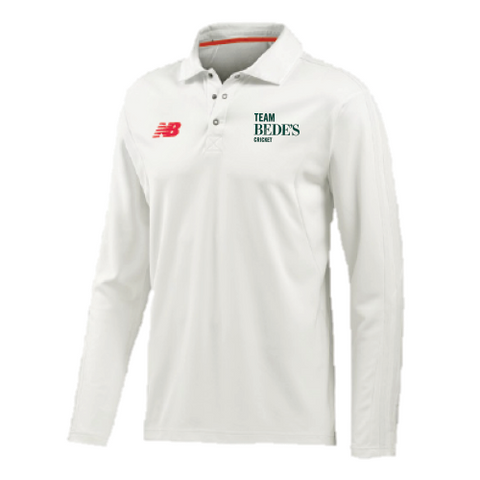New Balance Cricket Long Sleeved Shirt Juniors