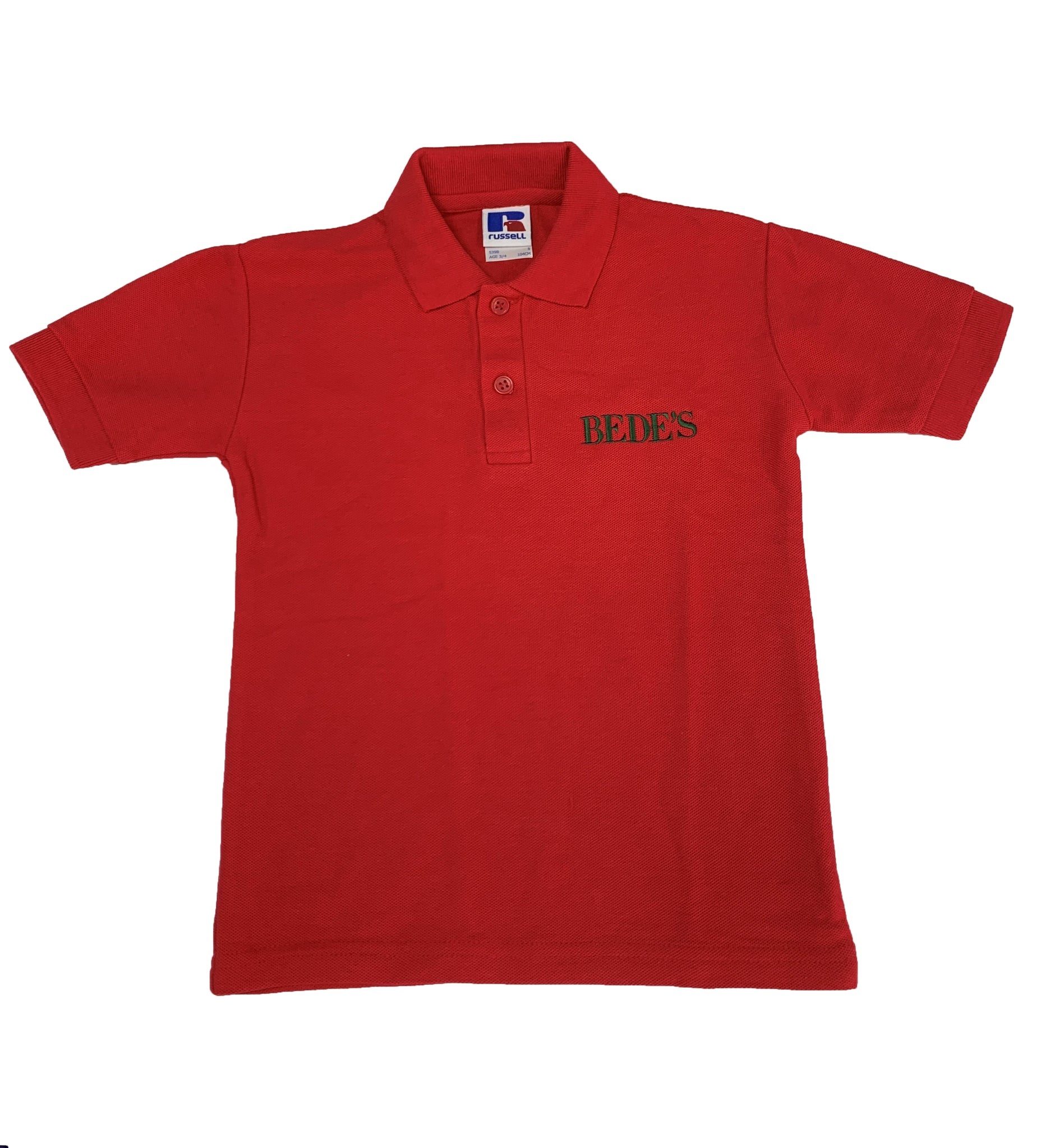 Nursery Red Polo Shirt