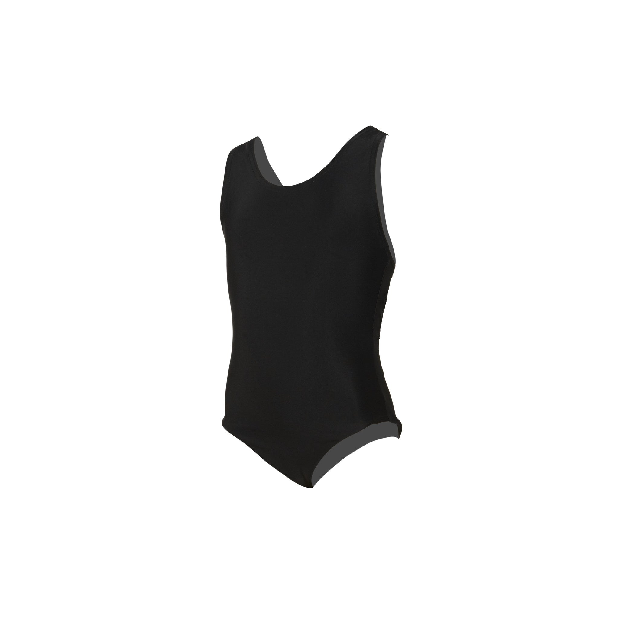 Pre-Prep and Prep Girls' Black Swimming Costume