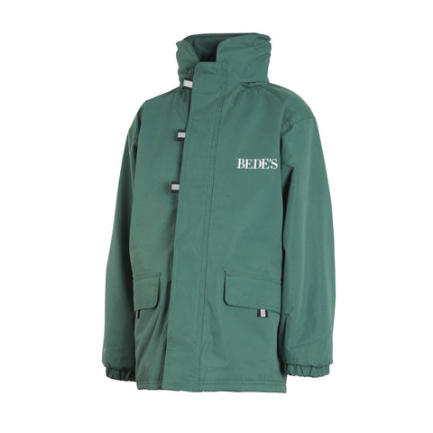 Bede's Unisex Prep Green Winter Coat Junior Sizes