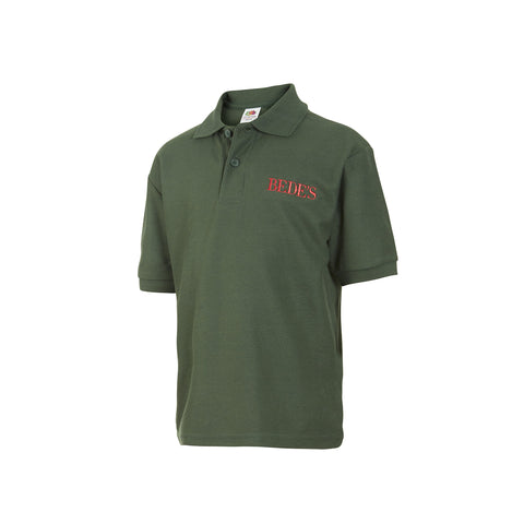 Pre-Prep Boys Green Bede's Polo Shirt