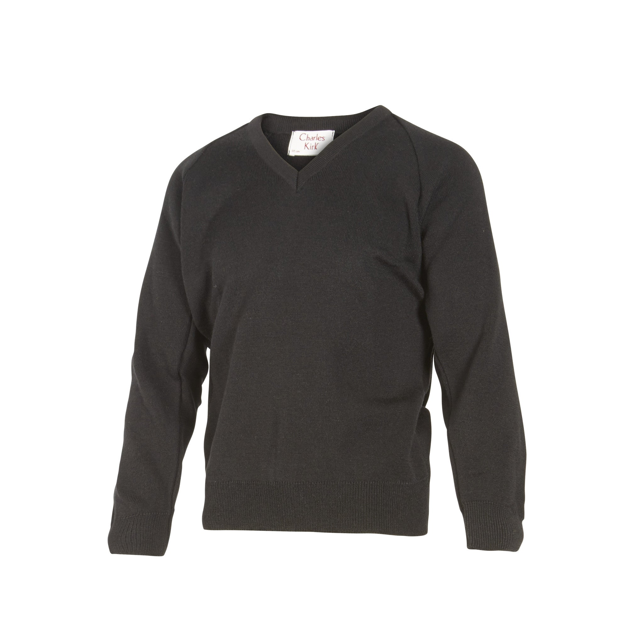 Black V Neck Jumper