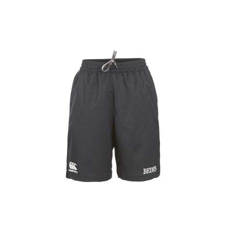 Bede's Canterbury Tech Black Shorts Junior Size