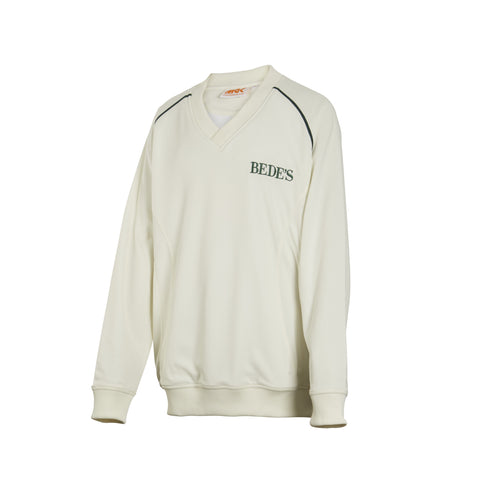 Bede's Cricket Long Sleeved Sweatshirt Junior Sizes