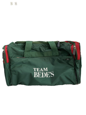 Prep Sports Bag Green/Red