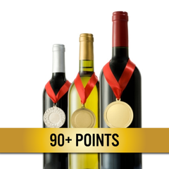 90+ Points Wines