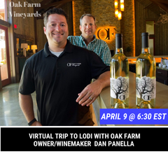 Oak farm vineyard tasting