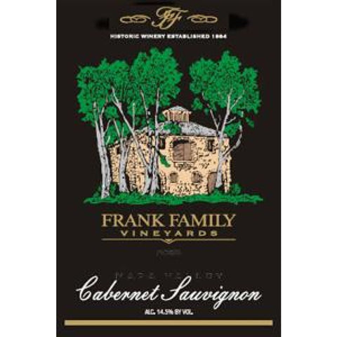 Frank Family Vineyards 2014 Napa Valley Cabernet Sauvignon Magnum (1.5L) - Taylor's Wine Shop