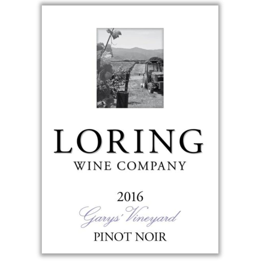 Loring Wine Co. 2016 Garys Vineyard Pinot Noir