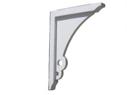 "SamsGazebos Designer Outdoor Wood Corbels Brackets, 2-Pack, 16"" x 10-3/4"", Bouquet"