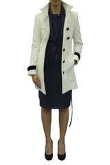 Carmella High Stand Collared Coat