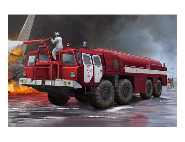 TRU01074 Trumpeter 1/35 AA-60 Fire Fighting Truck