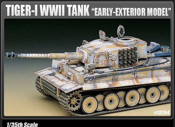 ACA13264 Academy 1/35 German Tiger 1 Early Production