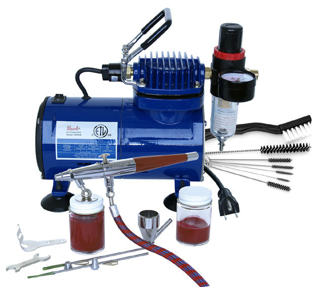 PL249 Paasche VL-100D Airbrush and Compressor Combo