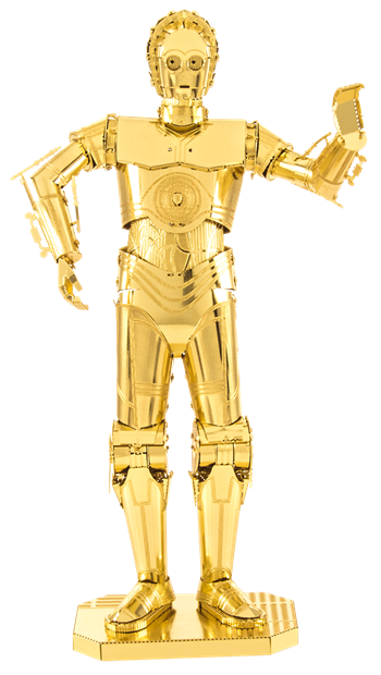 MMS270 Metal Earth C-3PO Gold Edition