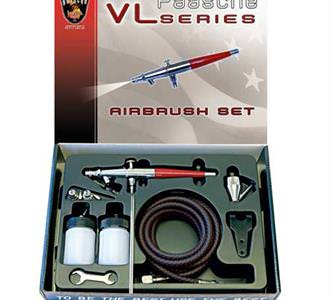 Paasche VLSET Siphon Feed Double Action Airbrush