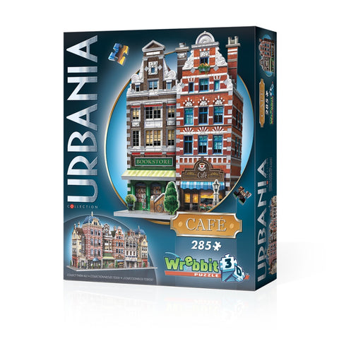 Wrebbit W3D0503 Urbania Collection Cafe 3D Puzzle