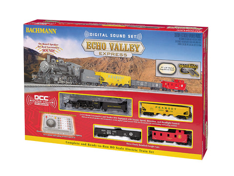 BAC00825 Bachmann HO Echo Valley Digital Sound Train Set
