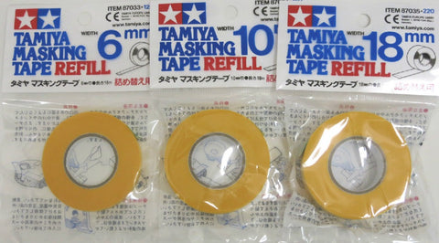 Tamiya Masking Tape and Refills