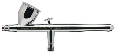 IWAR4500 Iwata Revolution HP-CR Gravity Feed Double Action Airbrush