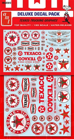 MKA029 AMT 1/24-1/25 Texaco Graphics Deluxe Decal Pack
