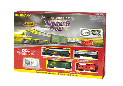 BAC00826 Bachmann HO Thunder Chief Digital Sound Train Set