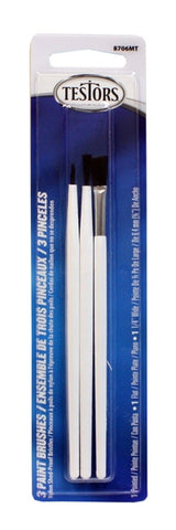 Testors Basic Nylon Paint Brushes
