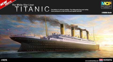 ACA14215 Academy 1/400 The White Star Liner RMS Titanic