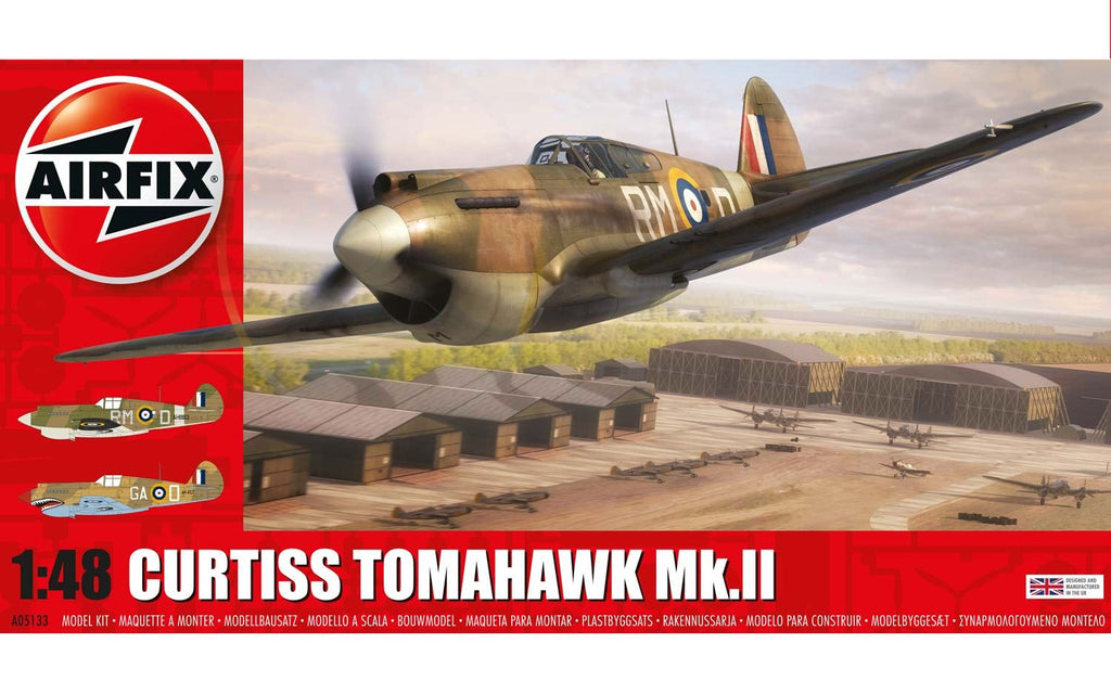 Airfix AIR05133 1/48 Curtiss Tomahawk Mk.II