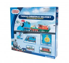 BAC00755 Bachmann HO Thomas' Christmas DeliveryTrain Set